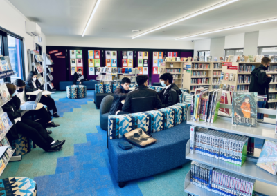 Glenroy College library