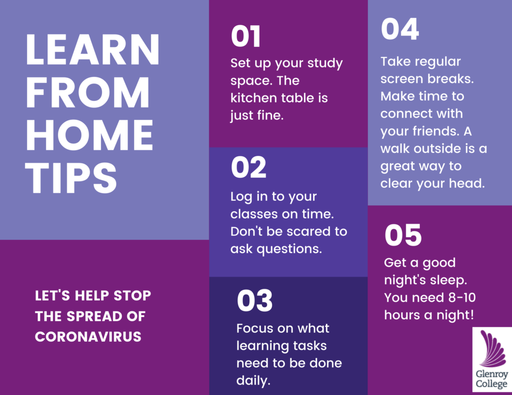 home learning tips for secondary students